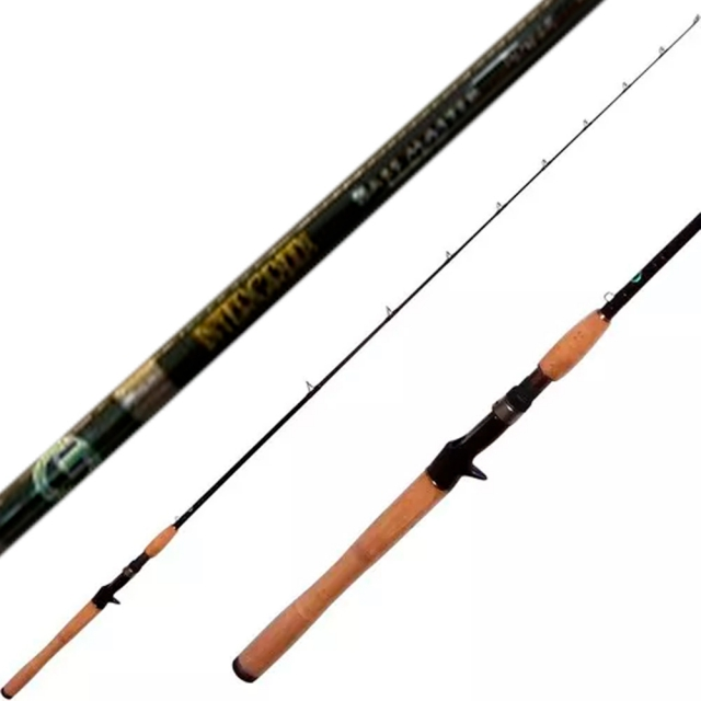 VARA INTERGREEN TIGER POWER 5´3 4-12LB P/CARRETILHA