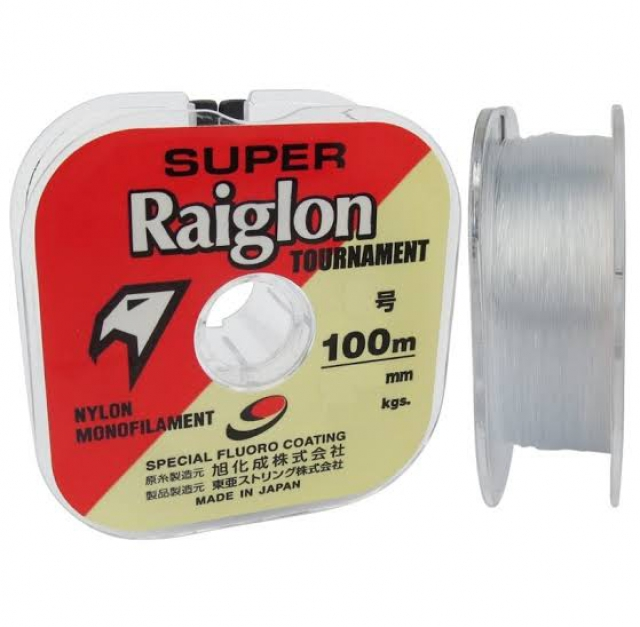 LINHA SUPER RAIGLON TOURNAMENT 0.14MM