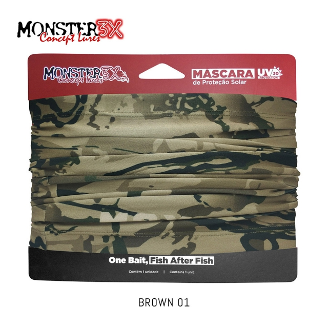 BUFF BROWN 01 MONSTER 3X