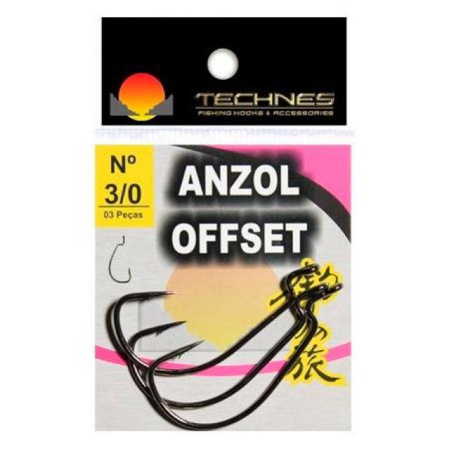ANZOL TECHNES OFFSET 1/0 COM 03 UNIDADES