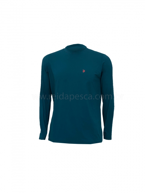 Camisa Fishing Co Poliamida - Verde
