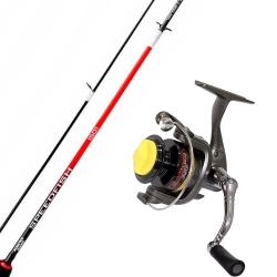 VARA ALBATROZ FISHING SPEEDFISH 1501 + MOLINETE MARURI PRO MASTER 650