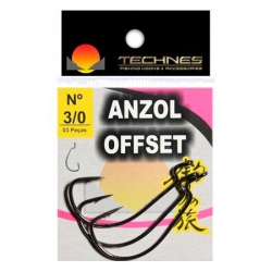 ANZOL TECHNES OFFSET 4/0 COM 03 UNIDADES