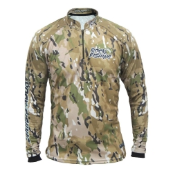 CAMISA ROCK FISHING CAMO DESERT