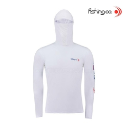 CAMISETA FISHING CO NINJA - BRANCA