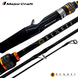 VARA BENKEI 6´0 10-16LBS P/CARRETILHA 2 PARTES MAJOR CRAFT