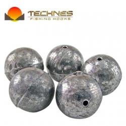 Chumbada tipo Bola Technes 04 gramas c/ 05 unidades