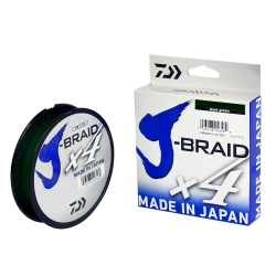 LINHA J-BRAID X4 30LB 270M 0.25MM DARK GREEN