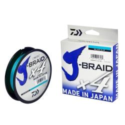 LINHA J-BRAID X4 20LB 270M 0.21MM ISLAND BLUE