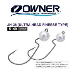 JIG HEAD 2/0 3.5GR ULTRA FINESSE TYPE OWNER