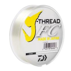 LINHA DAIWA FLUORCABONO J THREAD FC 0.72MM 60LBS