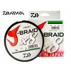 LINHA DAIWA J-BRAID X8 50LB 150M CHARTREUSE