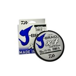 LINHA DAIWA J-BRAID X4 50LB 300M 330YD