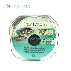 LINHA INTERGREEN MONOFILAMENTO VISION 0,34MM 100M