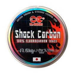 LINHA MARURI SHOCK CARBON 32.0KG 0,73MM 50M