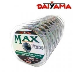 LINHA MONOFILAMENTO DAYAMA MAX FORCE 0,37MM 100M