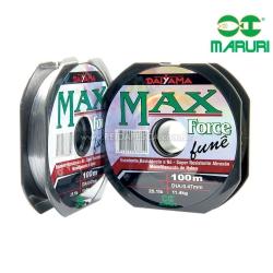 LINHA MONOFILAMENTO DAYAMA MAX FORCE FUMÊ 14.0 100M 0.62MM