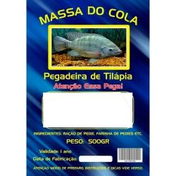 MASSA DO COLA PEGADEIRA DE TILAPIA CAMARÃO 500G
