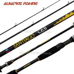 VARA ALBATROZ FISHING SANTIAGO C631 1,90M 6-10LB