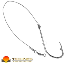 ANZOL ENCASTOADO TECHNES FLEXIVEL 4330 N°8/0