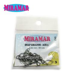 SNAP GIRADOR ACR3 MIRAMAR - 0,80MM 60LBS