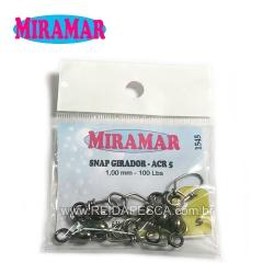 SNAP GIRADOR ACR5 MIRAMAR - 1,00MM 100LBS