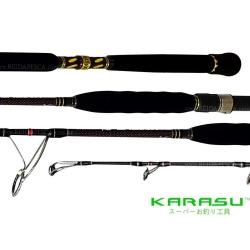 VARA KARASU KNIGHT BLACK PE# 5-6 P/ MOLINETE