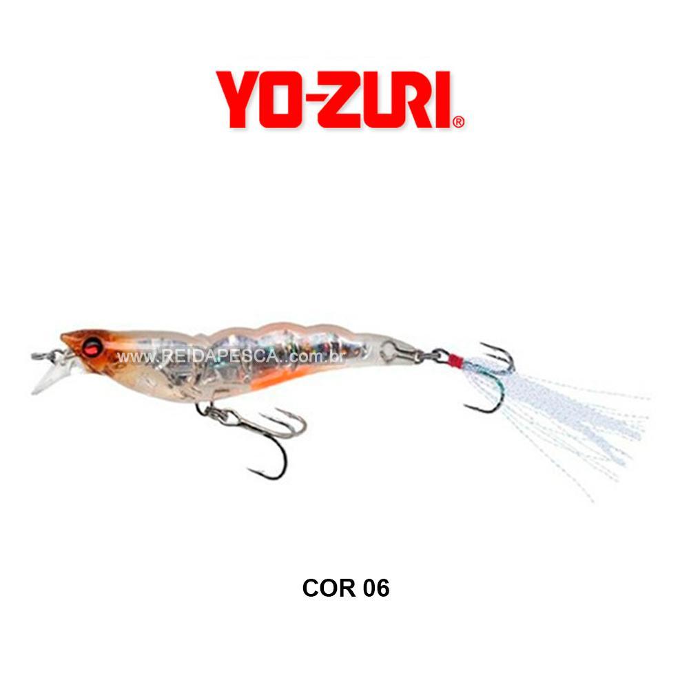 ISCA YO-ZURI CRYSTAL 3D SHRIMP SS